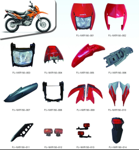 MOTORCYCLE PLASTIC BODY COVER FOR NXR150 SERIES