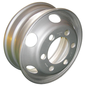 17.5*6 5 hole tubeless truck steel wheel