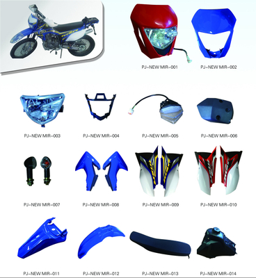 MOTORCYCLE PLASTIC BODY COVER FOR NEW M1R SERIES