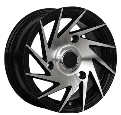 13x5.5 Inch Wheels 3/4 Holes Spoke Rims for Cars