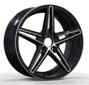Machine Face 17 Inch Aluminum Alloy Wheels Automobile Rims