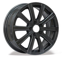 Multi Sizes 5 Holes Car Aluminium Wheels Positive Offset Alloy Rims
