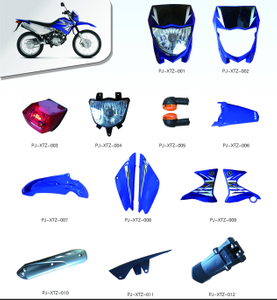 MOTORCYCLE PLASTIC BODY COVER