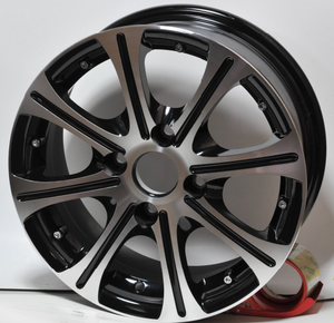 new design 14x6 aluminum alloy wheel 4x100/4x114.3mm DH-M042