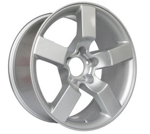DH-SU015 20 Inch Alloy Car Wheel Rims Silver Pcd 5x135