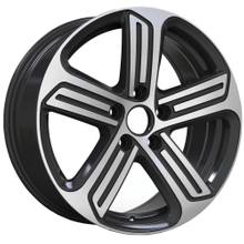 DH-B1340 Replica Alloy Car Wheels Rim Black 5 Hole Pcd 112